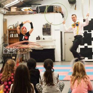 WopWop and JugJug Circus Show
